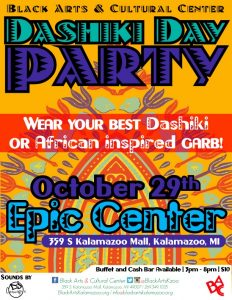 Dashiki Day Party